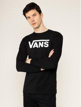 Vans Vans Marškinėliai ilgomis rankovėmis Classic VN000K6HY281 Juoda Classic Fit