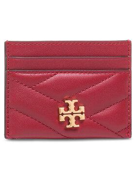 Tory Burch Tory Burch Pouzdro na kreditní karty Kira Chevron Card Case 56815 Červená