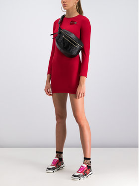 Red Valentino Red Valentino Coctailkleid SR3VAH30 Rot Regular Fit