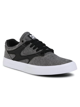 DC DC Sneakersy Kalis Vulc ADYS300569 Szary