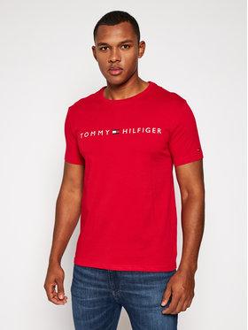 TOMMY HILFIGER TOMMY HILFIGER Tričko Cn Ss Tee Logo UM0UM01434 Červená Regular Fit