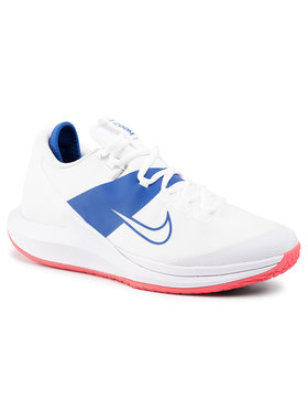 NIKE NIKE Pantofi Nikecourt Air Zoom Zero Hc AA8018 103 Alb