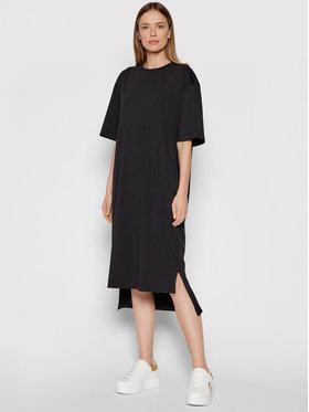 MAX&Co. MAX&Co. Ежедневна рокля 76248221 Черен Relaxed Fit