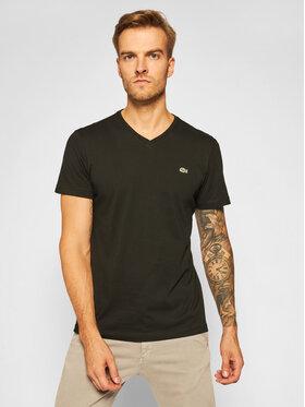 Lacoste Lacoste T-Shirt TH2036 Czarny Regular Fit