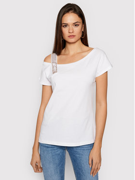 Liu Jo Liu Jo T-Shirt WA1403 J5703 Bílá Regular Fit