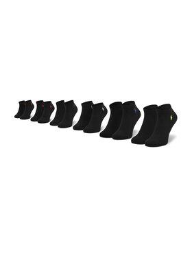 Polo Ralph Lauren Polo Ralph Lauren Комплект 6 чифта къси чорапи унисекс 455747502005 r. OS Черен