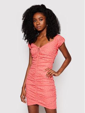 Guess Guess Ljetna haljina W1GK0F KALQ0 Crvena Slim Fit