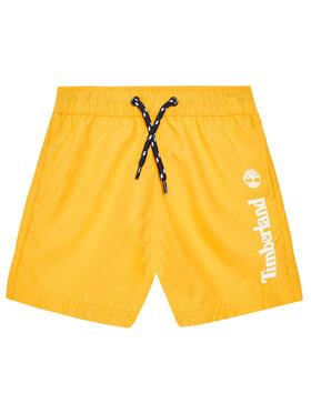 Timberland Timberland Σορτς κολύμβησης T24B44 M Κίτρινο Regular Fit