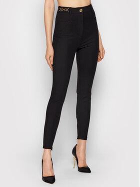 Elisabetta Franchi Elisabetta Franchi Spodnie materiałowe PA-011-16E2-V360 Czarny Slim Fit