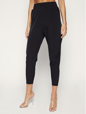 NIKE NIKE Outdoorové kalhoty Bliss Training AQ0294 Černá Slim Fit