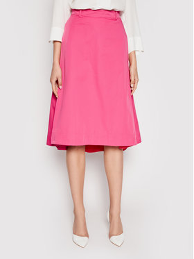 MAX&Co. MAX&Co. Trapézová sukňa Freddura 81010521 Ružová Regular Fit