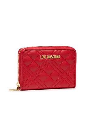 LOVE MOSCHINO LOVE MOSCHINO Didelė Moteriška Piniginė JC5602PP1DLA0500 Raudona