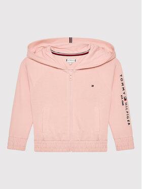 Tommy Hilfiger Tommy Hilfiger Bluza Essential KG0KG05675 D Różowy Regular Fit
