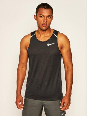 NIKE NIKE Funkční tričko Rise 365 AQ9917 Černá Standard Fit