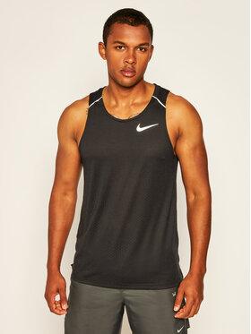 Nike Nike Тениска от техническо трико Rise 365 AQ9917 Черен Standard Fit