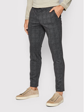 Only & Sons Only & Sons Chino kalhoty Mark 22019887 Černá Tapered Fit