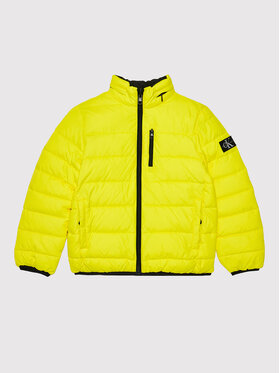 Calvin Klein Jeans Calvin Klein Jeans Doudoune Lined Monogram IB0IB00918 Jaune Regular Fit