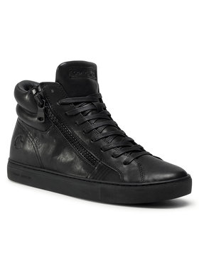 Crime London Crime London Boots High Top Double Zip 12621II3.20 Noir