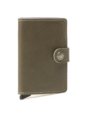 Secrid Secrid Malá pánska peňaženka MSa Miniwallet Zelená