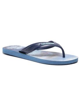 Havaianas Havaianas Šlepetės per pirštą Top Max Sport 41454260057 Tamsiai mėlyna
