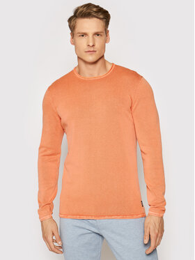 Only & Sons Only & Sons Pull Garson 22006806 Orange Slim Fit