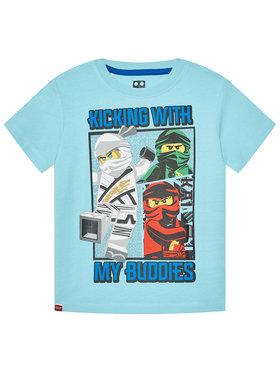 LEGO Wear LEGO Wear Marškinėliai 12010095 Mėlyna Regular Fit
