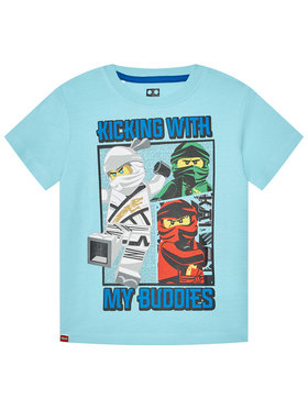 LEGO Wear LEGO Wear Тишърт 12010095 Син Regular Fit