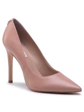 Guess Guess Pantofi cu toc subțire Gavi4 FL5GV4 LEA09 Bej