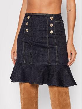 Guess Guess Džínová sukně Julianne W1BD19 D4HG4 Tmavomodrá Slim Fit