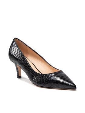 Solo Femme Solo Femme Pantofi cu toc subțire 48933-02-M31/E45-04-00 Negru