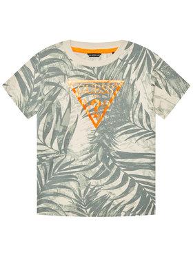Guess Guess T-Shirt L1GI02 K8HM0 Zielony Regular Fit