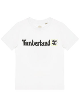 Timberland Timberland T-shirt T45831 Bianco Regular Fit