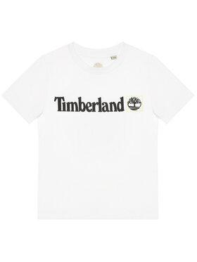 Timberland Timberland T-Shirt T45831 Bílá Regular Fit