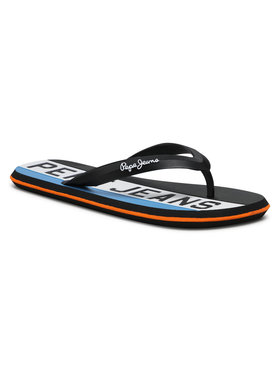 Pepe Jeans Pepe Jeans Flip-flops Whale Timy PMS70104 Fekete