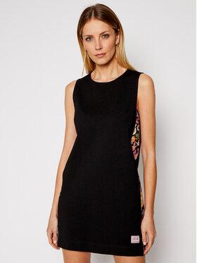 Versace Jeans Couture Versace Jeans Couture Sukienka codzienna D2HWA433 Czarny Regular Fit