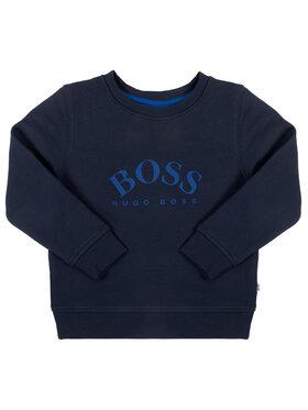 Boss Boss Mikina J25G05 S Tmavomodrá Regular Fit