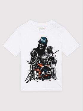 Coccodrillo Coccodrillo T-shirt ZC1143233EVB Blanc Regular Fit