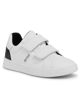 Boss Boss Sneakers J29J15 Blanc