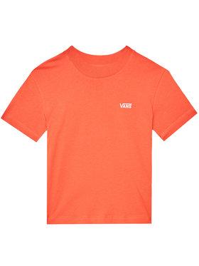 Vans Vans T-Shirt Junior V Boxy VN0A4MFL Pomarańczowy Regular Fit
