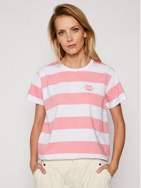 PLNY LALA PLNY LALA T-Shirt Kiss My PL-KO-CL-00190 Rosa Classic Fit