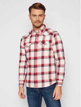 Wrangler Wrangler Риза Ls Western W5A0T2XGI Цветен Regular Fit