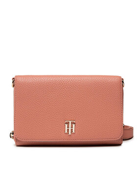 Tommy Hilfiger Tommy Hilfiger Geantă Th Soft Small Crossover AW0AW10124 Roz