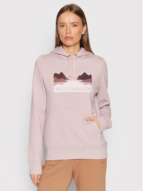 Helly Hansen Helly Hansen Sweatshirt Nord Graphic 62981 Rosa Regular Fit