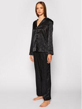 Guess Guess Pyjama O0BX01 WDIO0 Schwarz Regular Fit