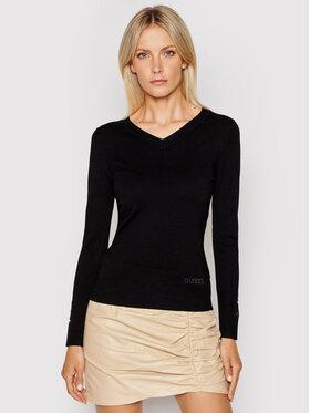 Guess Guess Sweter W1YR03 Z2V60 Czarny Regular Fit