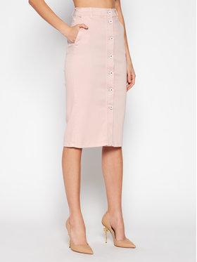 Marella Marella Spódnica jeansowa Dindi 31010115 Różowy Slim Fit