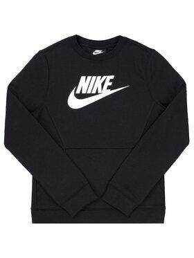 Nike Nike Mikina Crew Club BV0785 Černá Regular Fit