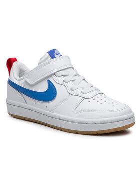 Nike Nike Boty Court Borough Low 2 (Psv) BQ5451 109 Bílá