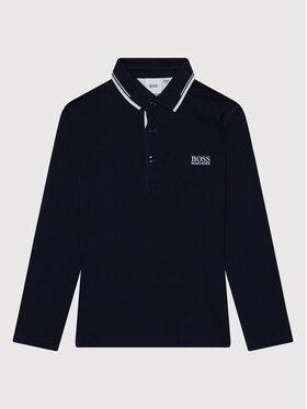 Boss Boss Polo marškinėliai J25L78 D Tamsiai mėlyna Regular Fit