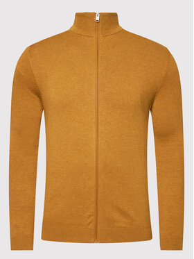 Selected Homme Selected Homme Strickjacke Berg 16074688 Gelb Regular Fit